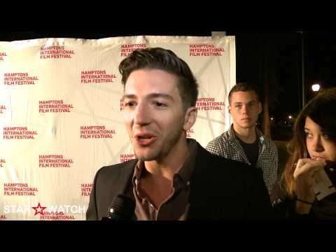 John Magaro red carpet  at 20th annual Hamptons International Film Festival
