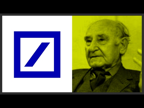 Deutsche Bank Logo - Anton Stankowski  |  Logo design & Designer review