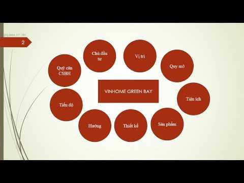 Những điểm cần biết về dự án Vinhome Green Bay Mễ Trì
