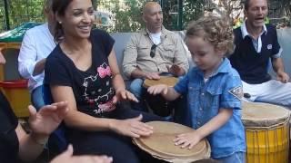 Atelier percussions parents et enfants