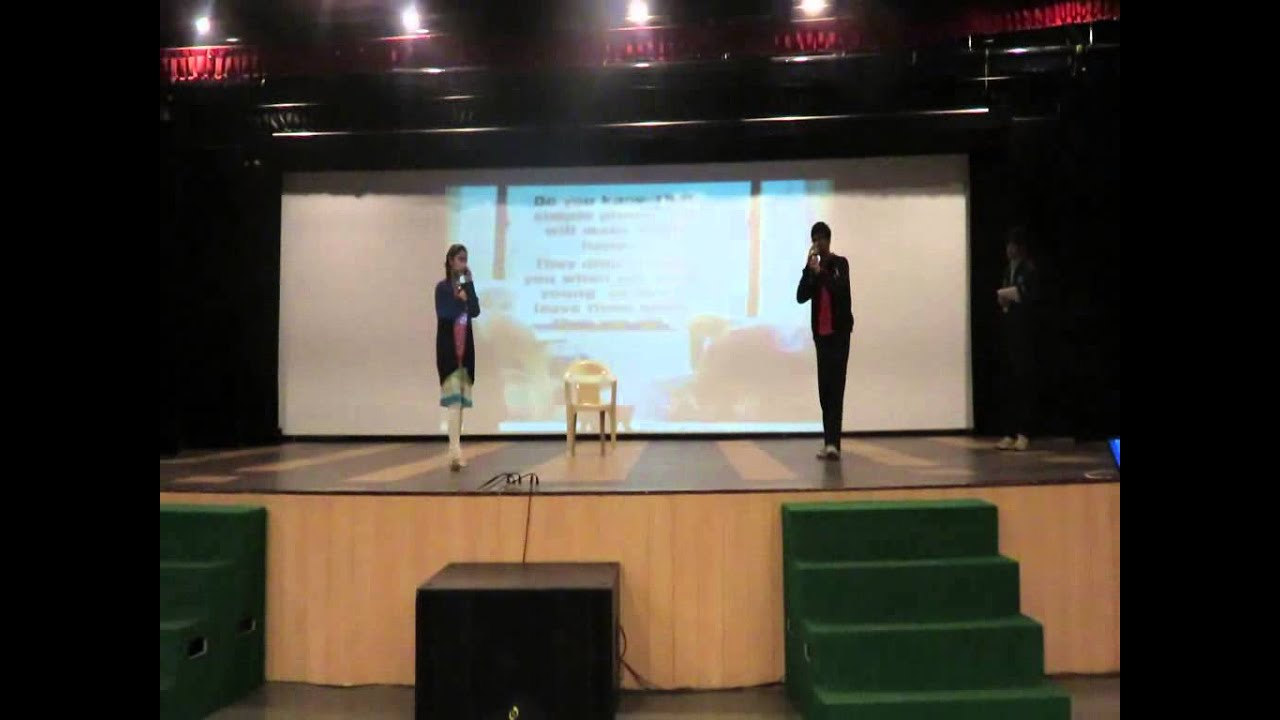 Class 9 B of TMS Mohali presented a touching skit on parental love at their  class assembly