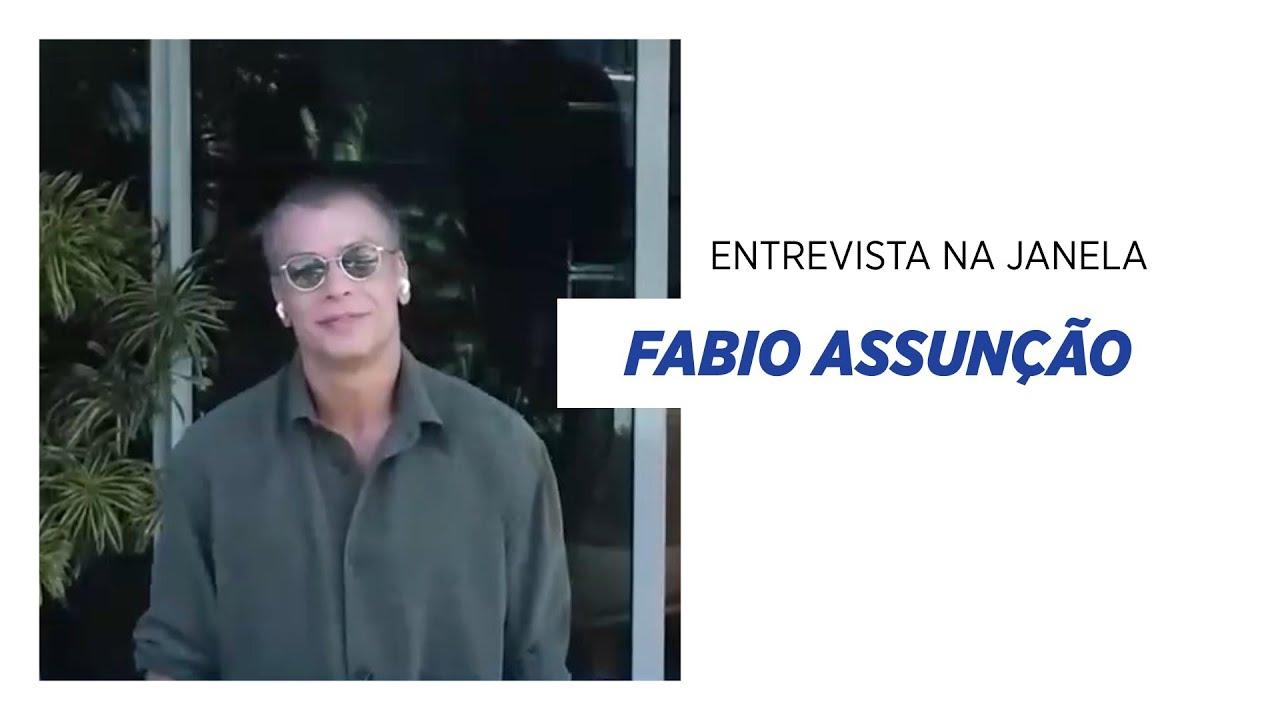 Fabio Assunção: 'Perdi 27 quilos só com alimentação' I ENTREVISTA NA JANELA