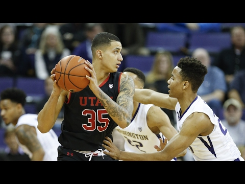 Recap: Utah men's basketball overcomes Markelle Fultz, Washington in Seattle