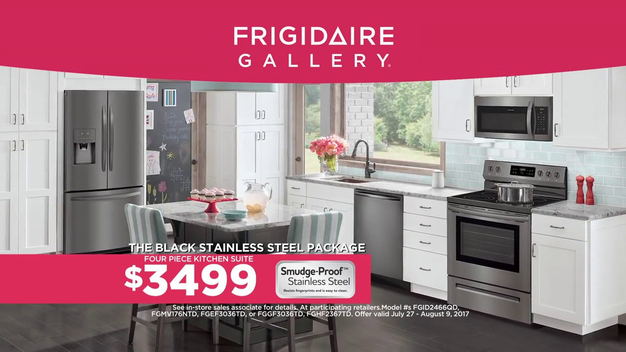 Frigidaire Gallery Black Stainless Steel Collection Youtube