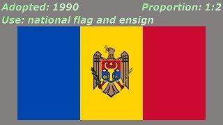 Flags of Moldova