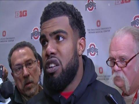 VIDEO: Ezekiel Elliott's Michigan State post game interview