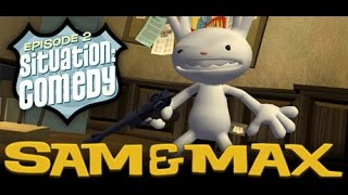 Sam & Max Save The World Longplay Episode 2: Situation Comedy [X360]
