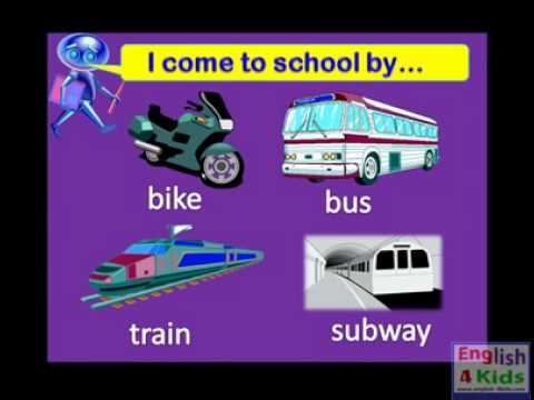 Mode Of Transport Pictures For Kids