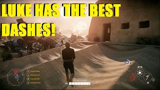 Star Wars Battlefront 2 Luke has the BEST Dashes in BF2! Change my mind! (Luke / Yoda)