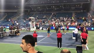 Martina Hingis/Chan Yung-jan WTA Cincinnati Doubles Ceremony 2017