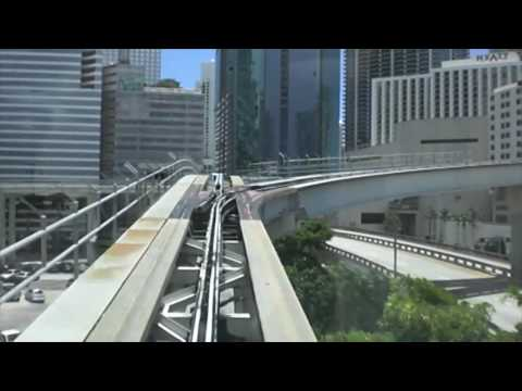 Miami Metromover APM - Government Center to Brickell