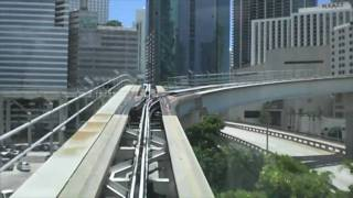 Miami Metromover APM - Government Center to Brickell