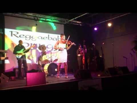 Bob Marley - Jammin played live by Melika Queely on violin