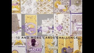 10 Cards 1 kit Challange Crafty Ola Store card kit of the Month March 39 18 39 39 Nature 39 s Grace 39 39