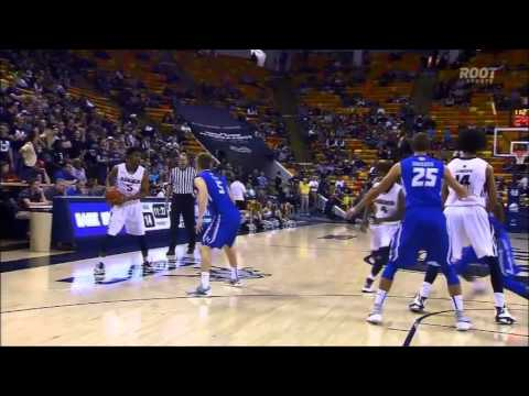 Utah State Basketball vs Air Force Highlights