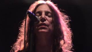 Patti Smith - Peaceable Kingdom - The Forum Bath - 28.06.12