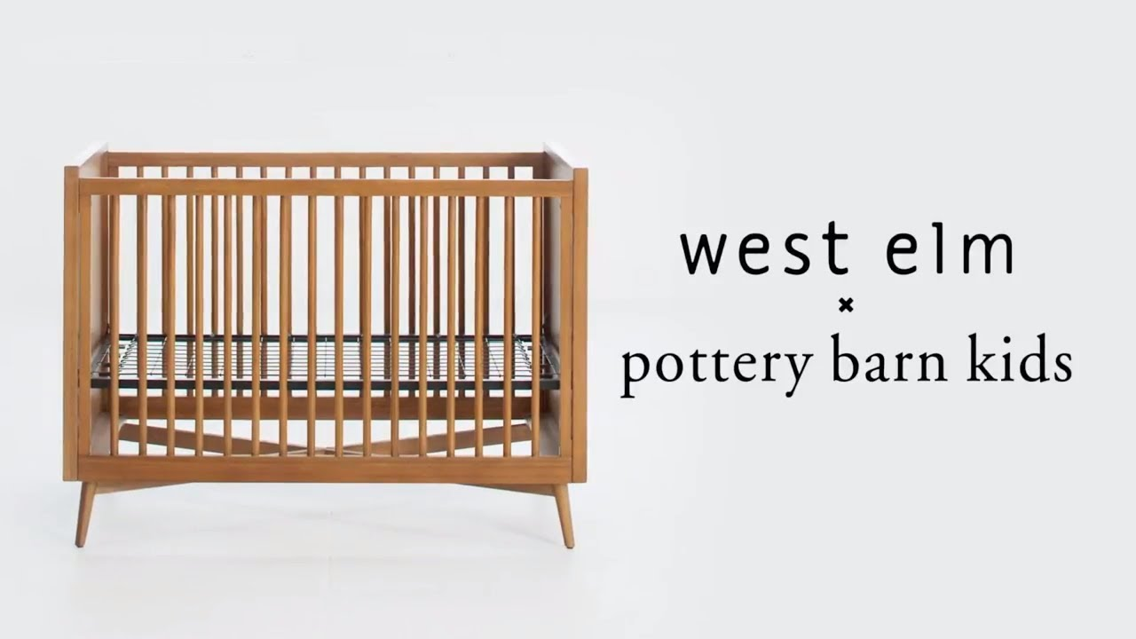 Mid Century Modern Crib We X Pbk