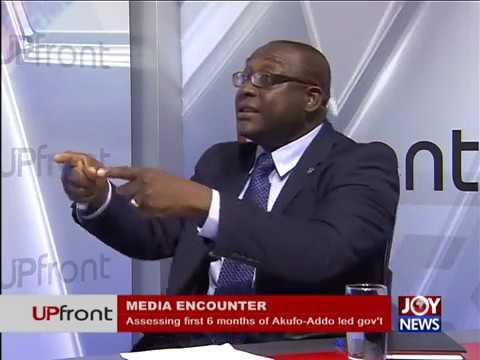 Media Encounter - UPfront on Joy News (19-7-17)