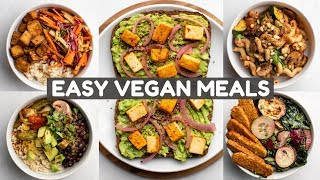 5 Meals I Eat Every Week (Vegan)