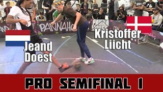 Jeand Doest vs Kristoffer Liicht | Semifinal 1, Pannahouse Invitationals 2017