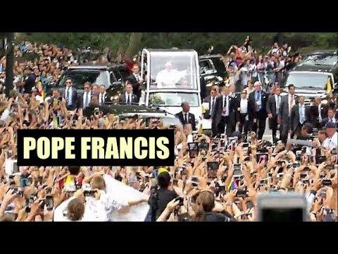 Pope Francis (el Papa Francisco) In Central Park, New York City (9/25/15)