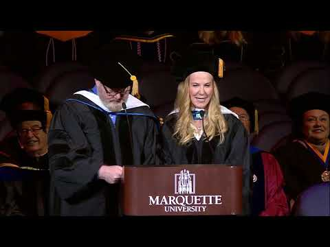 Jeannie and Jim Gaffigan Commencement Address at Marquette University