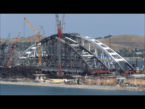 Карта проекта Крымский мост