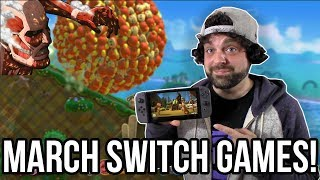 The BEST Nintendo Switch Games for March 2018! | RGT 85