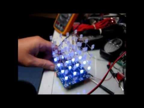 8x8x8 led cube instructables