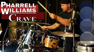 ✔Pharrell Williams Crave Cover-Crave Drum Cover-Hidden Figures Motion Picture Music
