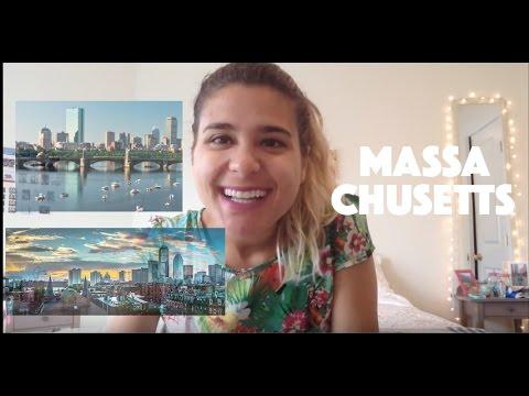 MORANDO EM MASSACHUSETTS - cidade + clima + BRASILEIROS e MAIS