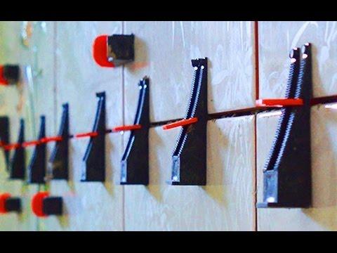 Система Выравнивания Плитки СВП :   технология укладки на стены