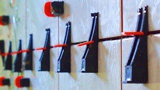 Система Вирівнювання Плитки СВП : технологія укладання на стіни