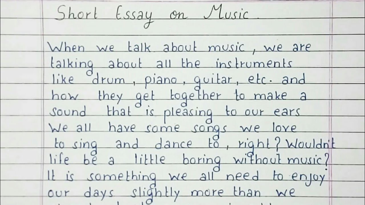 Music essay writing resume builder scams
