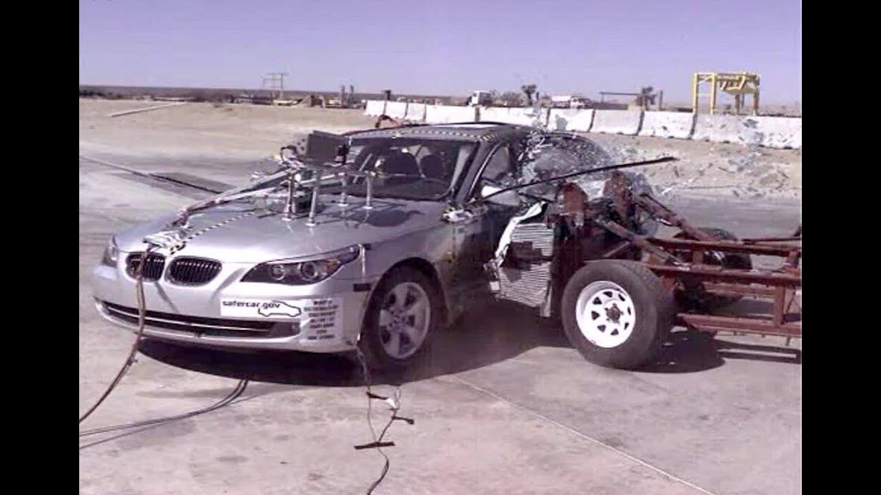 2008 Bmw 528i Side Crash Test By Nhtsa Crashnet1 Youtube
