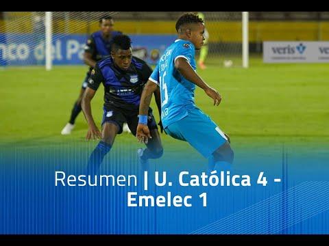 U. Catolica Emelec Goals And Highlights