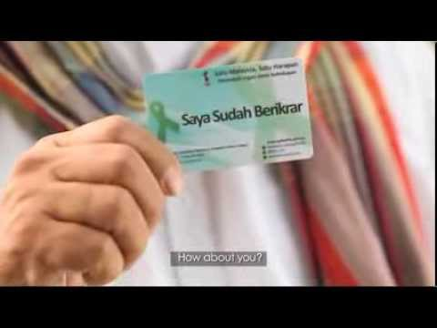 organ donation at malaysia for presentation