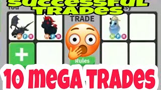 10 Mega Pets Successful Trades Proofs In Adopt Me Trading