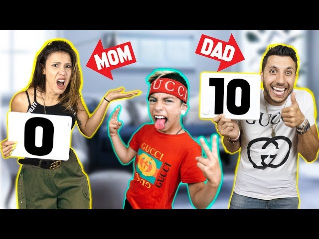 REACTING To Our SONS GUCCI OUTFITS! **Bad Idea** | The Royalty Family