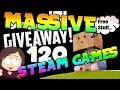 Steam Game Giveaway || 120 Games - 25 Winners || Giveaway Ended