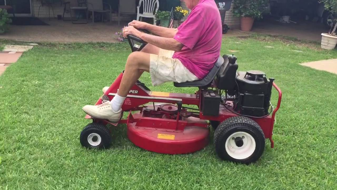 Snapper Riding Lawn Mower Youtube