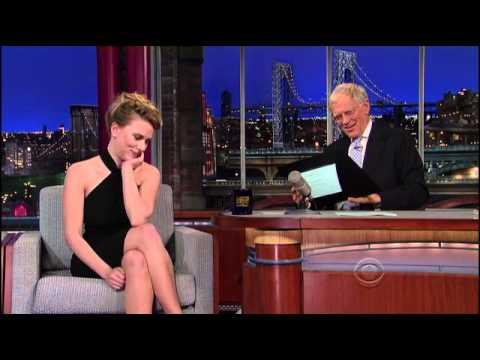 Scarlett Johansson Letterman 2012 11 21 HQ