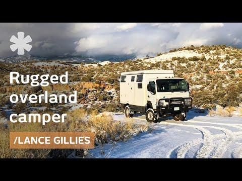 Aussie overlander's own travels inspire rugged 4WD campervan