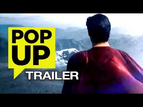 Man of Steel (2013) POP-UP TRAILER - HD Zack Snyder Movie