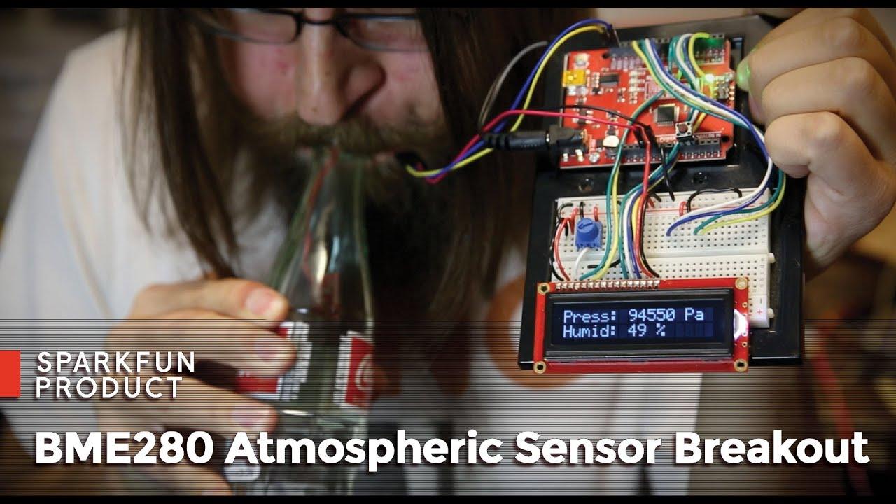 Sparkfun Bme280 Atmospheric Sensor Breakout Youtube Wiring Board