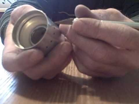 1- Making a small alcohol stove for a snowpeak