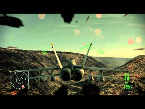 Ace Combat Assault Horizon :: (Mission 5) Blue On Blue :: (HD) :: Difficulty Elite