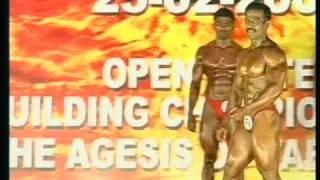 Mr.Tamilnadu bodybuilding championship 2007 chennai