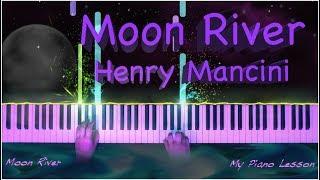 Moon River (Henry Mancini) - Easy Relaxing Piano Tutorial