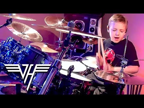 Everybody Wants Some (Drum Cover) 7 year old Drummer - Avery Drummer Molek